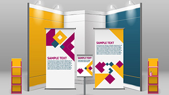 Trade Show Displays and Supplies Sample