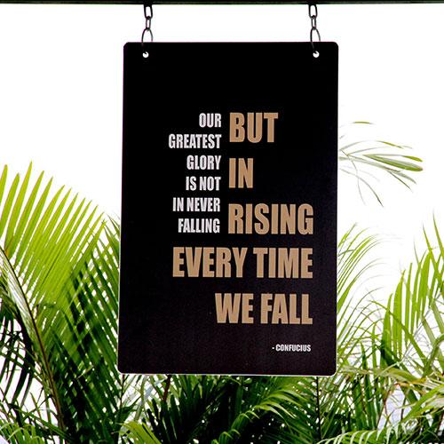 Acrylic Custom Hanging Business Signs in Orlando, FL