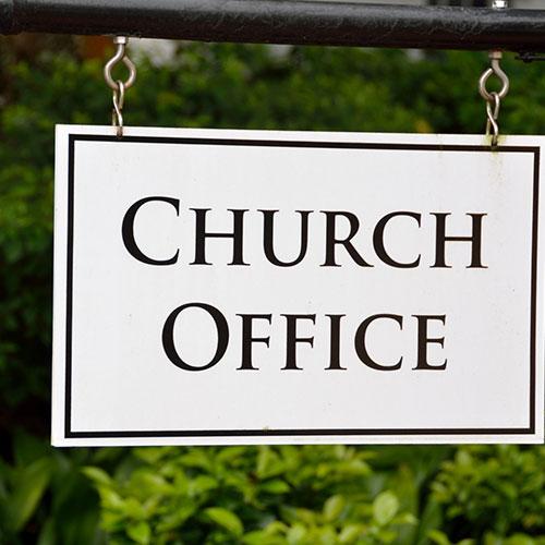 Church Office Custom Signs in Orlando, FL