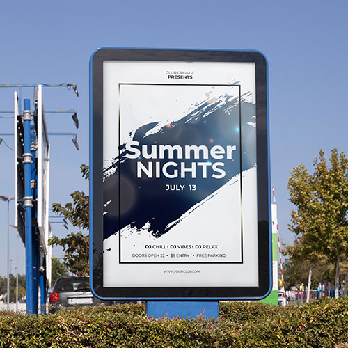 Summer Night Commercial Post and Panel Signs in Orlando, FL