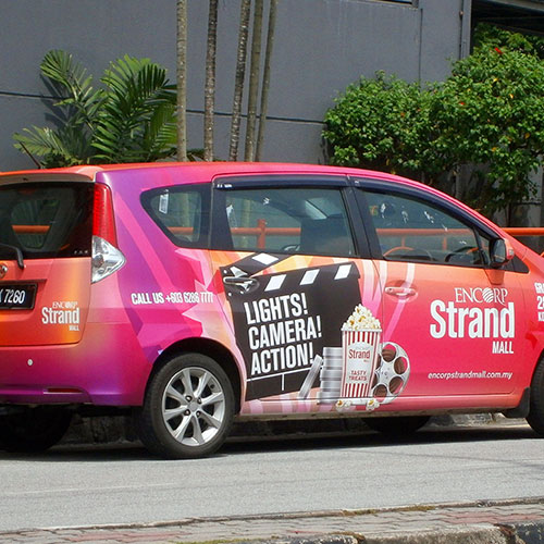 Vehicle Vinyl Decals for Advertisement in Orlando, FL