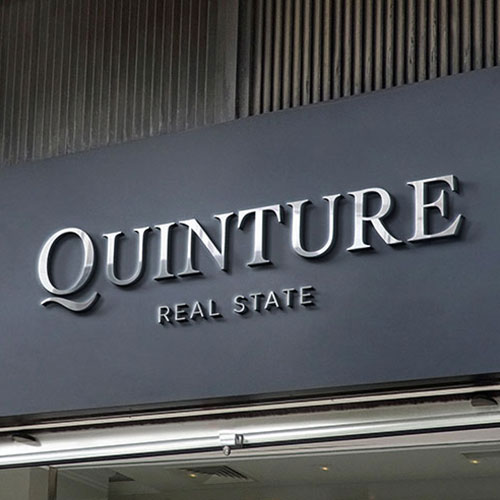 Quinture Real State Outdoor Signs in Orlando, FL